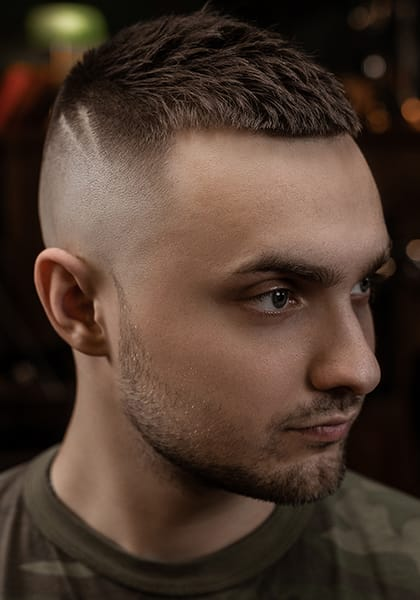 Hairstyle Buzz Cut
